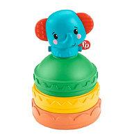 Развивающая игрушка Fisher Price Слоник-пирамидка GWL66