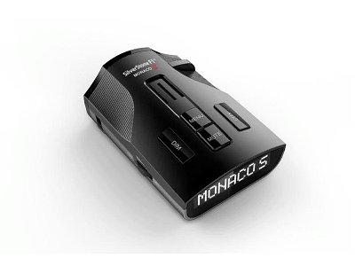 Радар-детектор Silverstone F1 Monaco S black