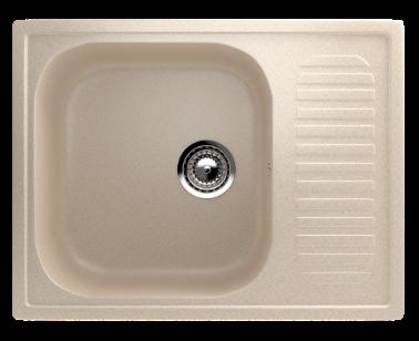 Кухонная мойка EcoStone ES-18 328 бежевый