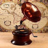 Граммофон 'Ретро стиль' (пластинка в комплекте)
