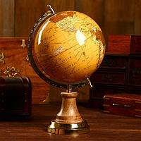 Сувенир глобус 'Мир' 22х20х37 см