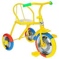 "Велосипед трёхколёсный Micio TR-313, колёса 10""/8"", цвет желтый"