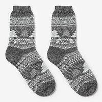 Носки мужские шерстяные 'Зима', цвет лён, размер 25