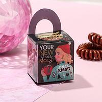 Набор резинок-пружинок с ароматом шоколада Your New Year's mood, 3,2 х 6,5 см