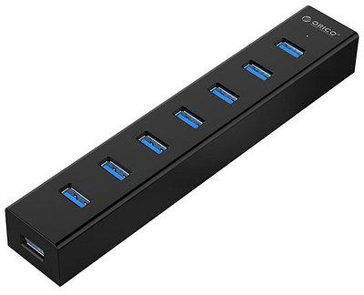 USB-разветвитель Orico H7013-U3-BK Черный