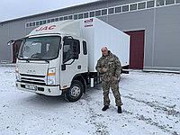 Изотермический фургон на JAC (завод NIKSEN)