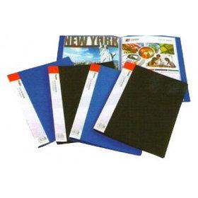 Папка с файлами, 30 файлов, А4, 0.55/0.020мм, пластик Foska