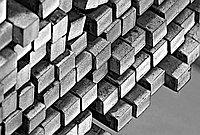 Конструкционный никелированный квадрат 200 мм 40ХНВ