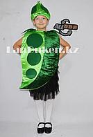 Карнавальный костюм детский овощи и фрукты горошек