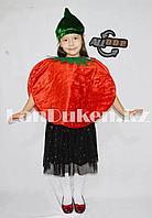 Карнавальный костюм детский овощи и фрукты помидор,красное яблоко, гранат