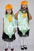 Карнавальный костюм детский овощи и фрукты кукуруза