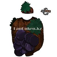 Карнавальный костюм детский овощи и фрукты (01) 24-32 р виноград