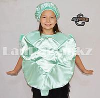 Карнавальный костюм детский овощи и фрукты зеленый виноград