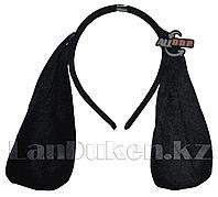 Ободок Собачьи ушки (черный)