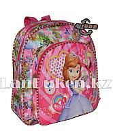 Детский рюкзак для детского сада Принцесса София светло-розовый