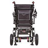 Инвалидная коляска электрическая GENTLE 120M, 24v 300w. Аккум. Li-ion 24v  10 A/H. Вес 21 кг, фото 7