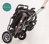 Инвалидная коляска электрическая GENTLE 120M, 24v 300w. Аккум. Li-ion 24v  10 A/H. Вес 21 кг, фото 4