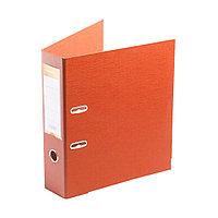 """Папка регистратор Deluxe с арочным механизмом, Office 3-OE6 (3"""" ORANGE), А4, 70 мм, оранжевый"""