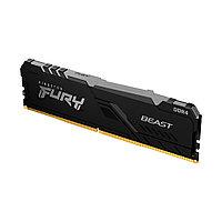 Модуль памяти Kingston FURY Beast RGB KF426C16BB1A/16 DDR4 16GB 2666MHz