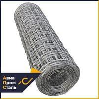 Сетка стальная сварная, кладочная, 5,5 мм, ячейка 85х85, карта, 1х2 м