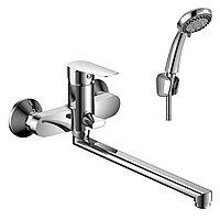 Смеситель Rossinka Sivermix S35-33 для ванны с длинным изливом