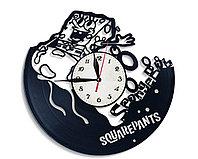 Настенные часы Губка Боб Квадратные Штаны SpongeBob SquarePants, подарок фанатам, любителям, 2727