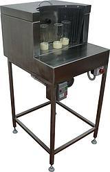 Установка мойки и стерилизации банок (мойка бутылок - ополаскиватель) ИПКС-124Б9(Н) , произв. до 1000 бут/ч