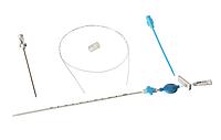 Набор д/катетеризации подкл. и яремных вен стер. 2,3*1,6-1,4 (13G/7Fr металл) | Медсил, без НДС