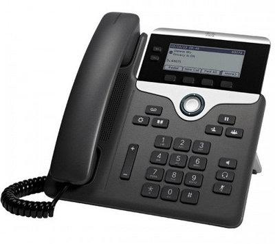 Проводной телефон Cisco CP-7821-K9 черный