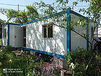 Дом Вагончик из 3-х Блоков