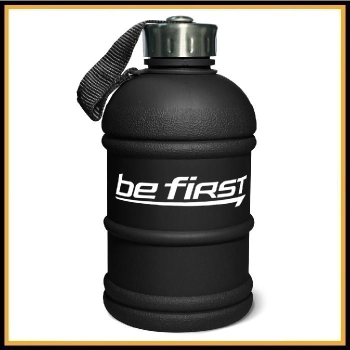Бутылка для воды Be First 2200 мл (черная матовая)