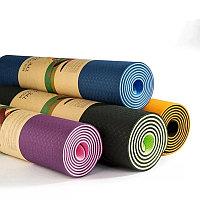 Коврик для йоги(фитнеса) двухсторонний