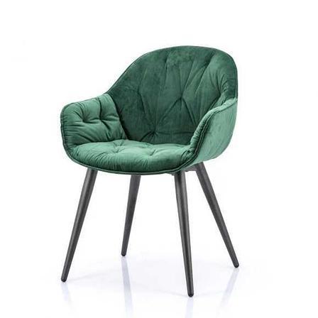 Скандинавские бархатные стулья, фото 2
