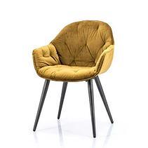 Скандинавские бархатные стулья, фото 3