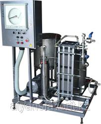 Комплект оборудования для пастеризации (проточный пастеризатор-охладитель молока) ИПКС-013-500