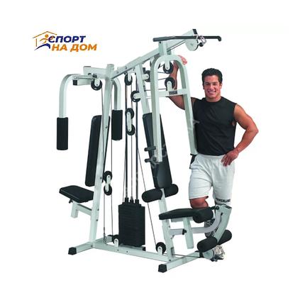Силовой Атлетический тренажер AMA-20H1 на 2 человека, фото 2