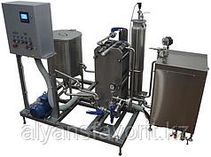 Комплект оборудования для пастеризации (проточный пастеризатор-охладитель молока) ИПКС-013-1500