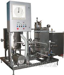Комплект оборудования для пастеризации (проточный пастеризатор-охладитель молока) ИПКС-013-2000