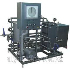 Комплект оборудования для пастеризации (проточный пастеризатор-охладитель молока) ИПКС-013-3000