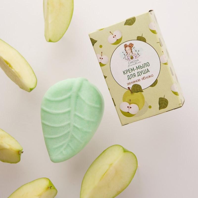 Крем-мыло для душа Зеленое яблоко