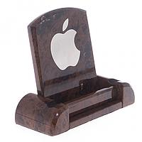 Подставка для телефона из коричневого обсидиана