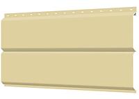 Металлосайдинг 240 мм RAL 1014 глянец Europanel Цена 1095 тенге при заказе свыше 50 п.м