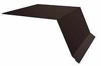 Планка карнизного свеса Матовый 250х50х3000