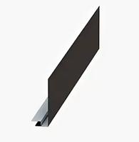 Планка карнизного свеса сложная Матовый Серый 7024 250х50х2000