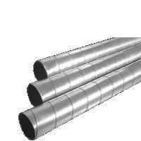 Воздуховод круглый Диаметр 100 мм, Длина 3 мм