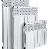 Радиатор алюминиевый высота ребра 500 мм, Количество секций 4, Глубина 78 мм