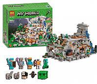 Конструктор Майнкрафт Горная Пещера BELA 10735 аналог LEGO 21137