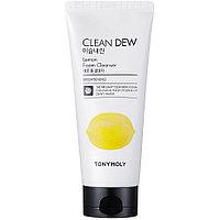 Tony Moly Clean Dew Foam Cleanser Lemon - Пенка для умывания с экстрактом Лимоном