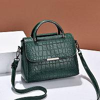 Женская сумка Promenade с тиснением под крокодила