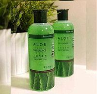 Увлажняющий и осветляющий тонер с экстрактом алоэ - FarmStay Visible Difference White Toner (Aloe)